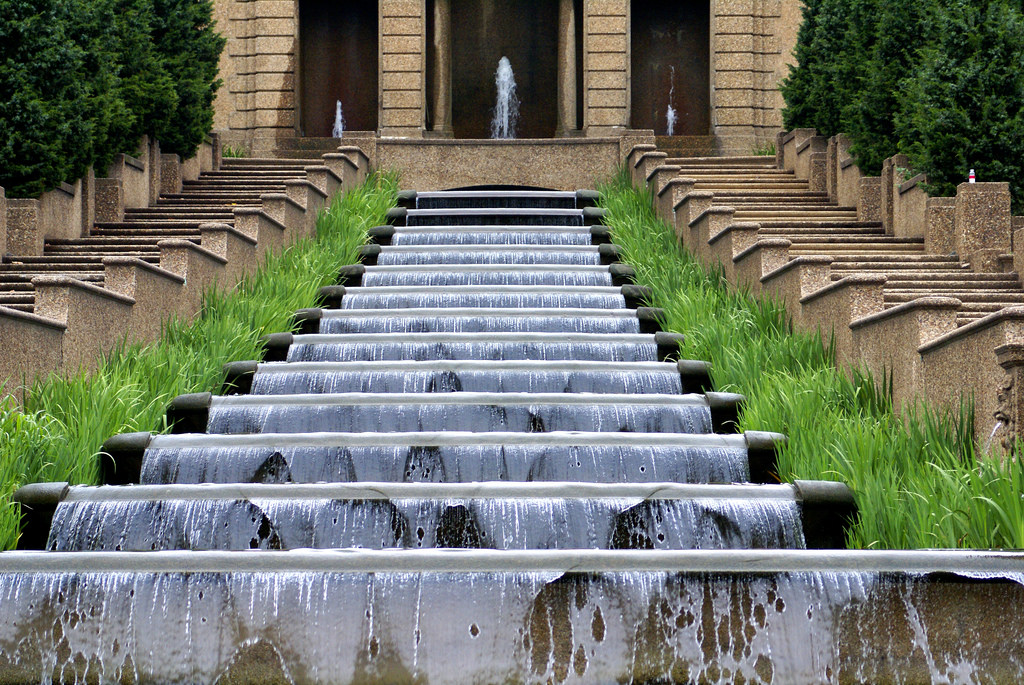 Image of: Cascading Fountain Style