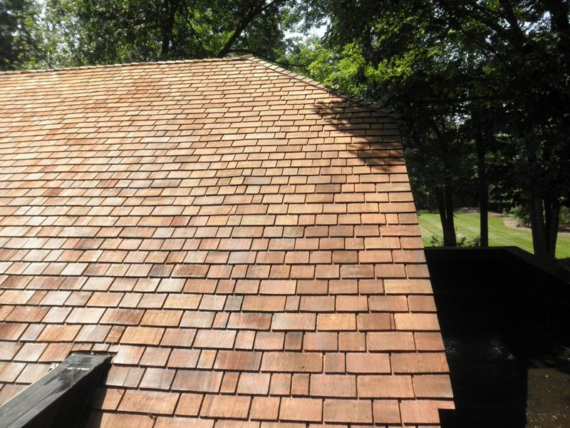 Cedar Roof Shingles Maintenance