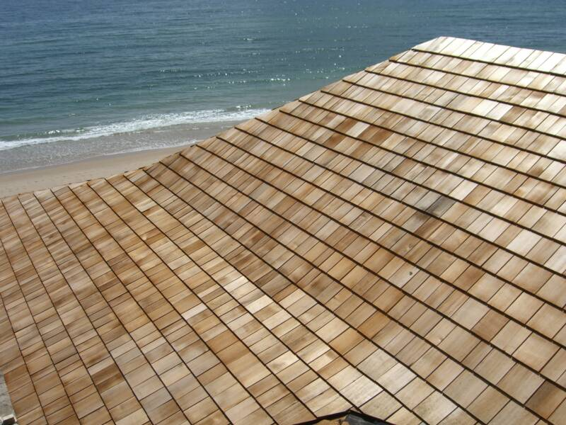 Cedar Roof Shingles Repair