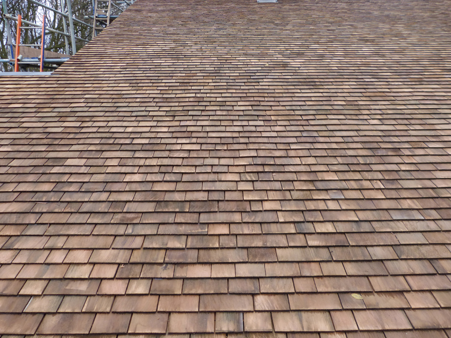 Image of: Cedar Roof Shingles Treatment