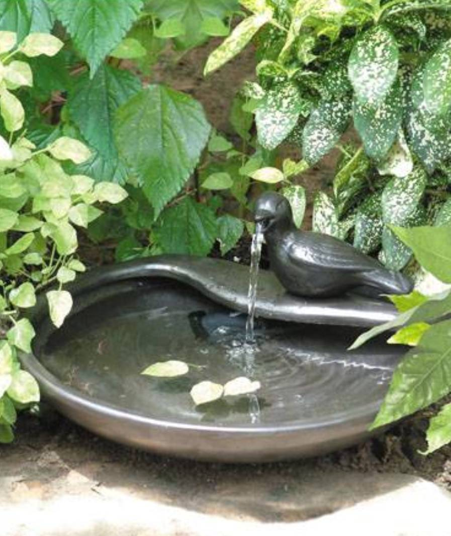 Image of: Ceramic Fountains Garden