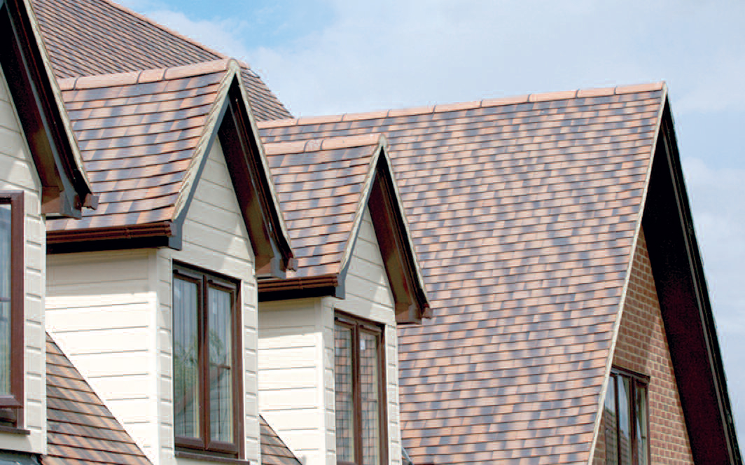 Image of: Ceramic Roof Tile Design