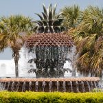 Charleston Pineapple Fountain Location
