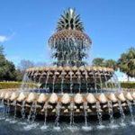 Charleston Pineapple Fountain sc