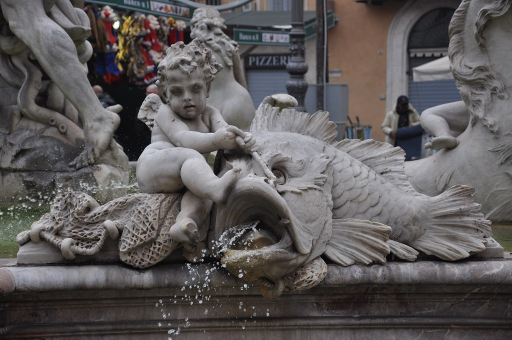 Cherub Fountain Plan