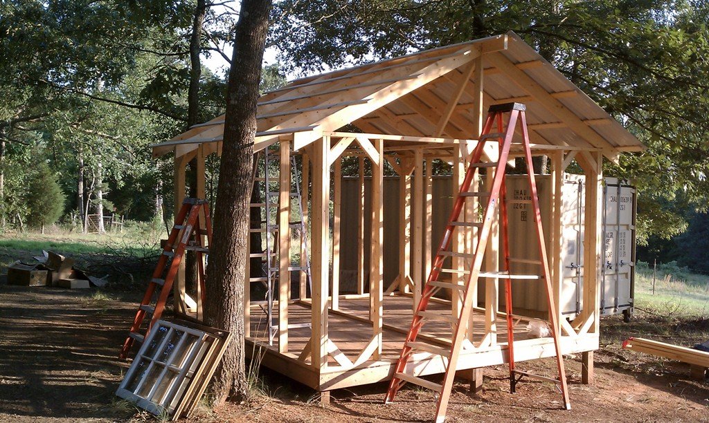 Image of: Chicken Coop Roof Pitch