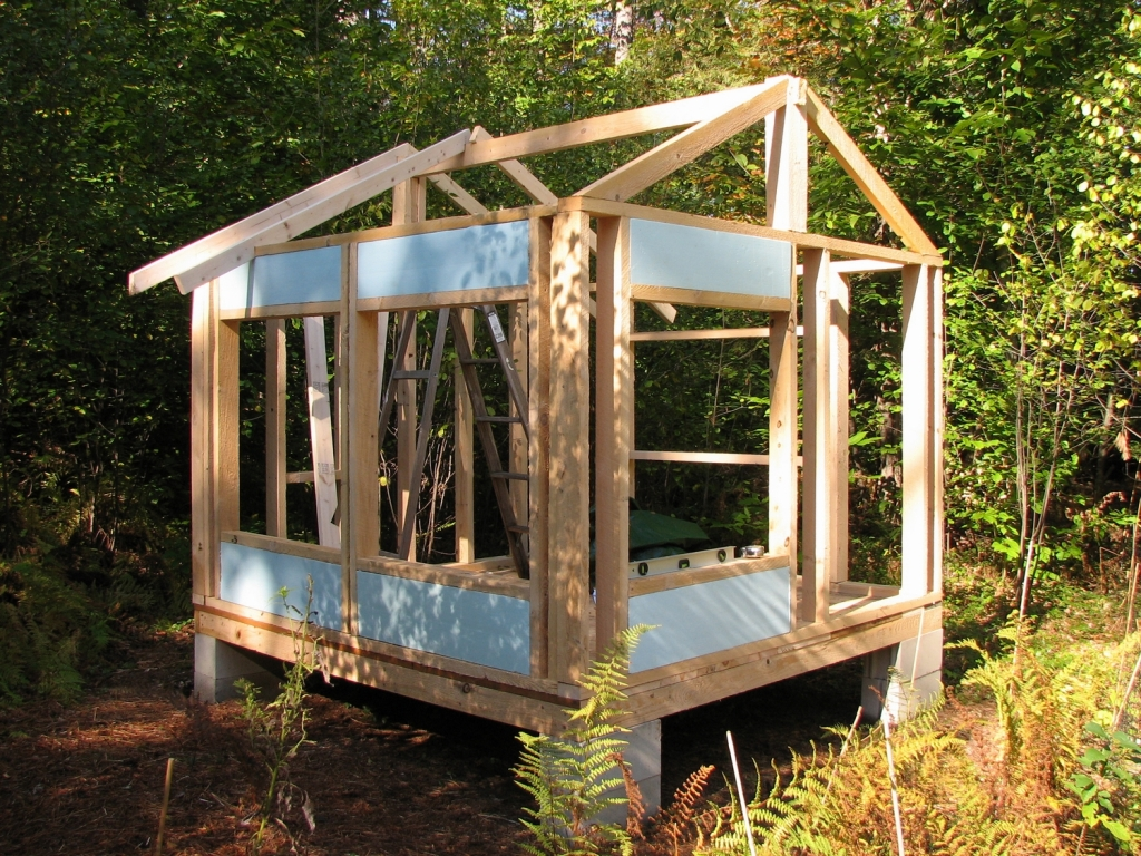 Image of: Chicken Coop Roof Plans