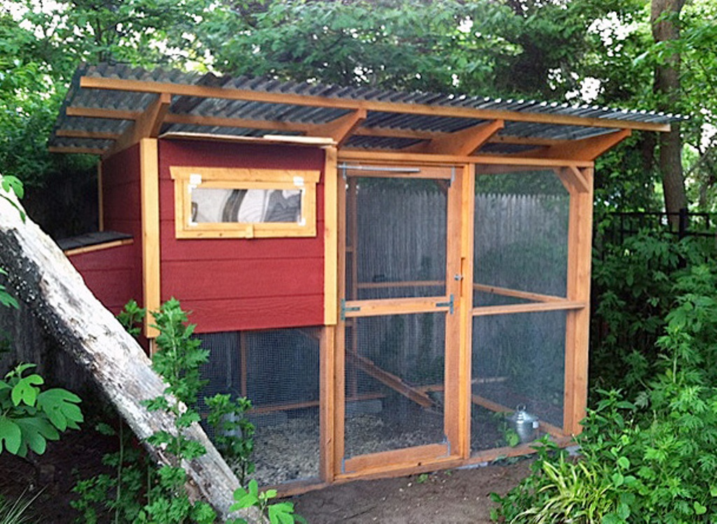 Image of: Chicken Coop Roof Trusses