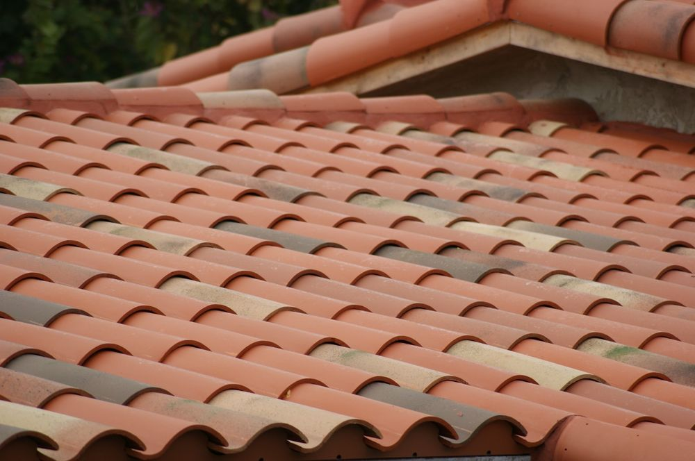 Image of: Clay Roof Tiles Home Depot