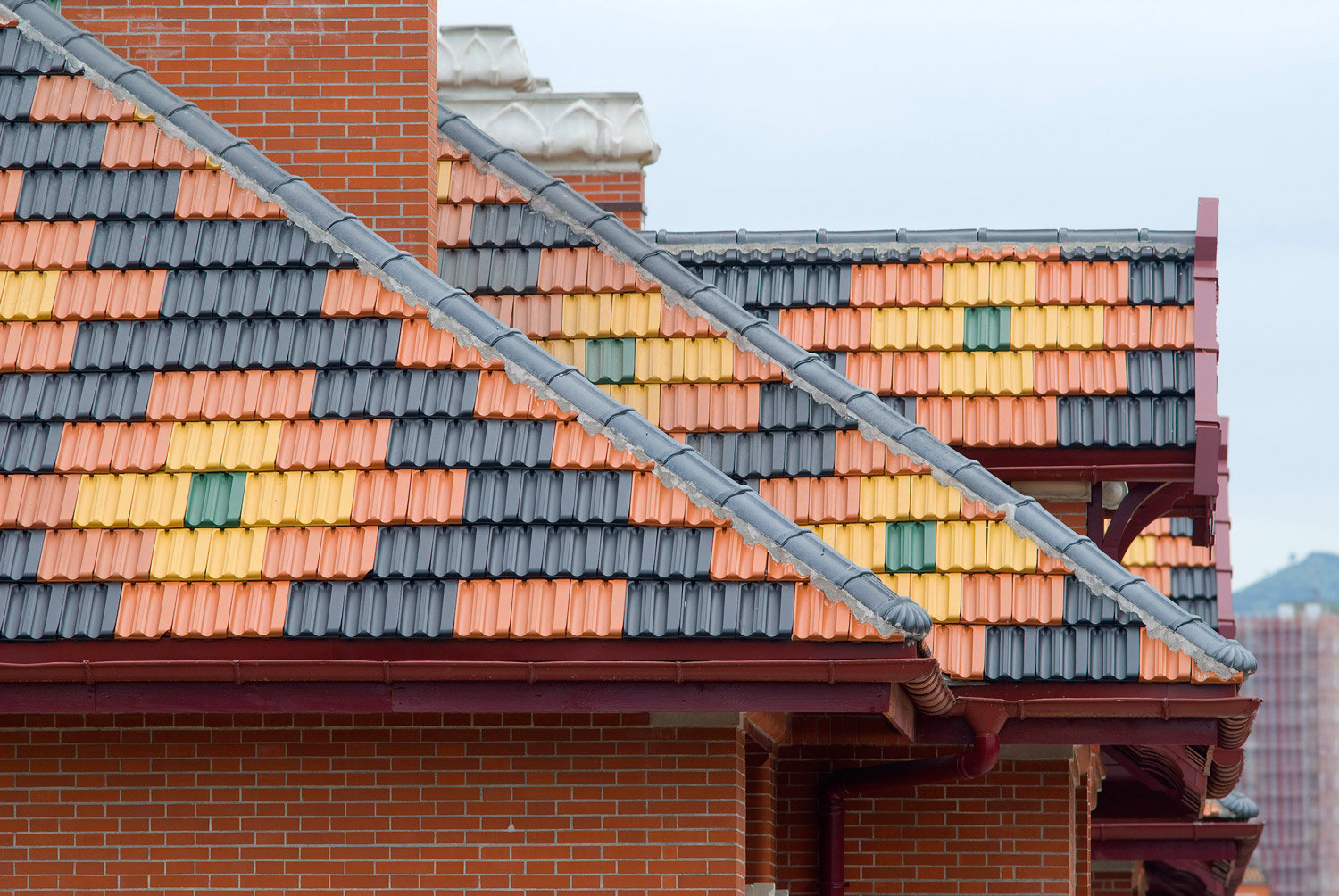 Image of: Clay Tile Roofing Color Options