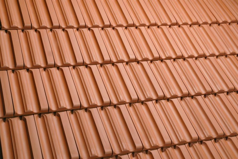 Clay Tile Roofing Glossy