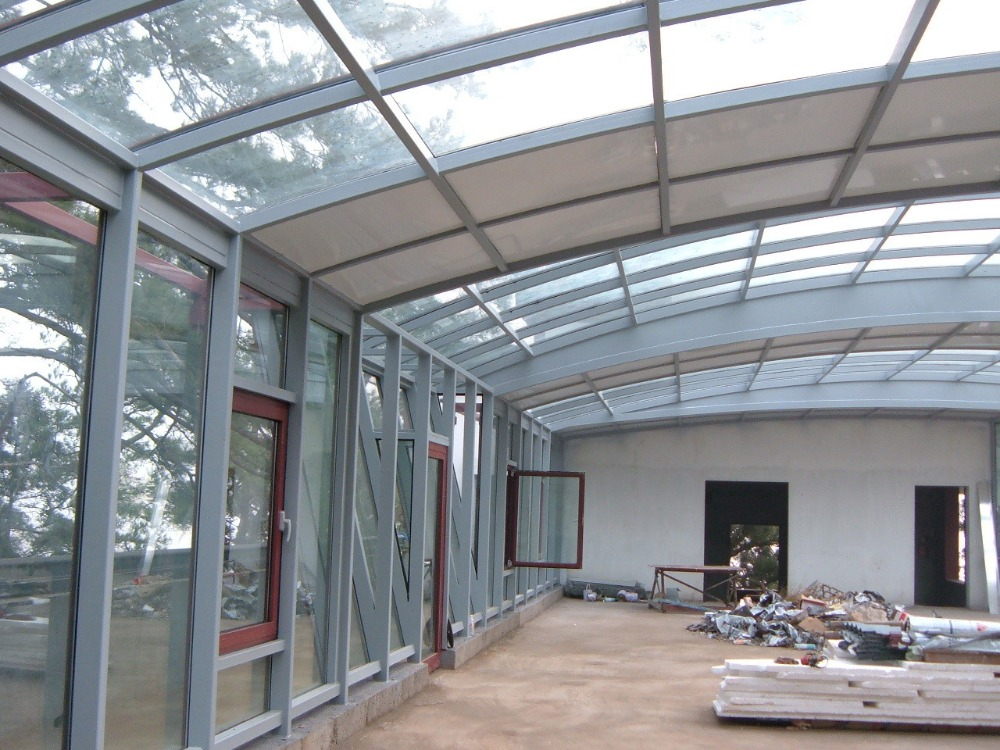 Image of: Clear Acrylic Roof Panels