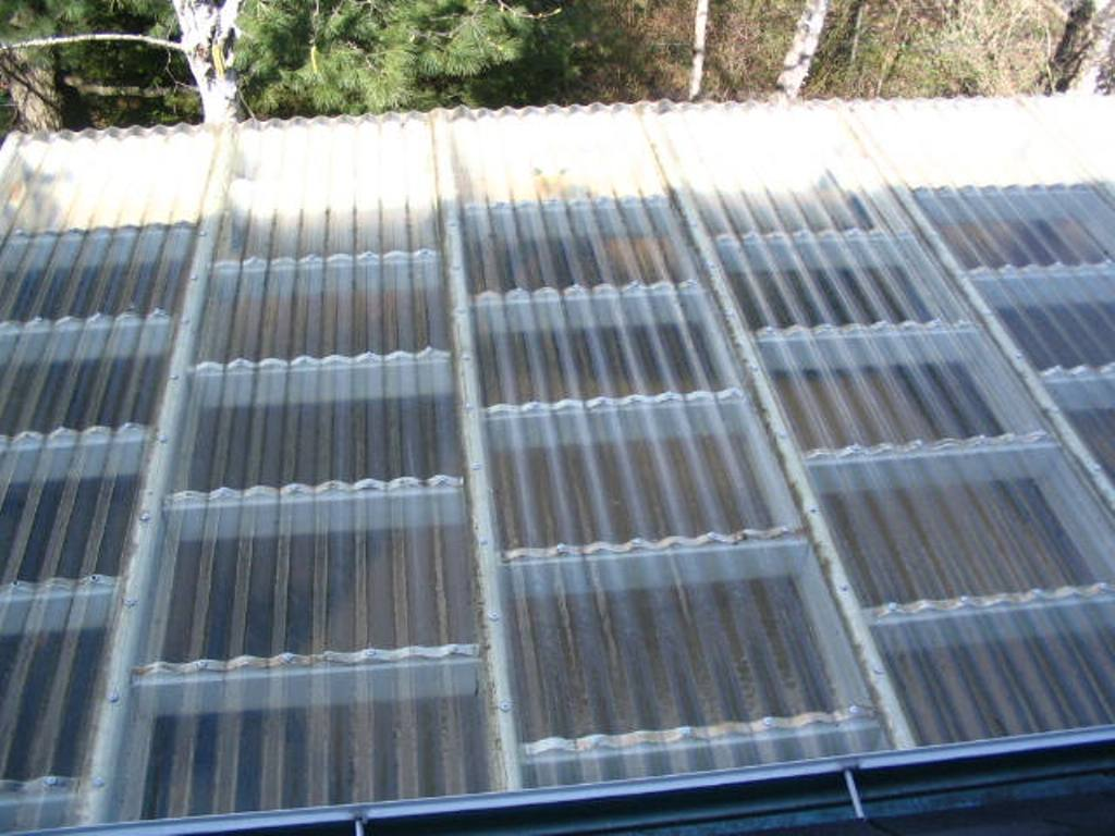 Clear Plastic Roofing Home Depot