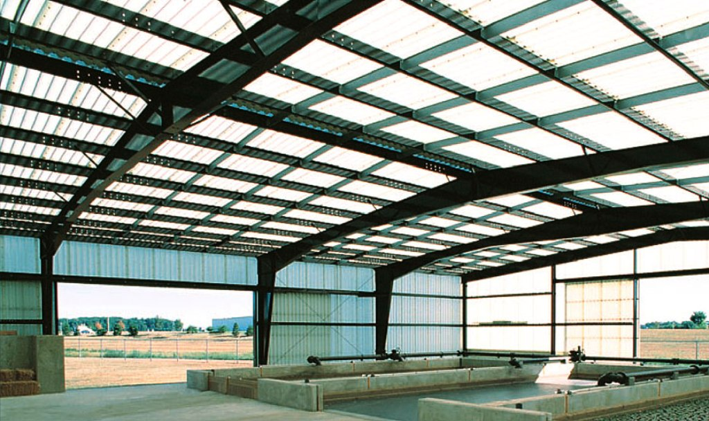 Image of: Clear Plastic Roofing Panels
