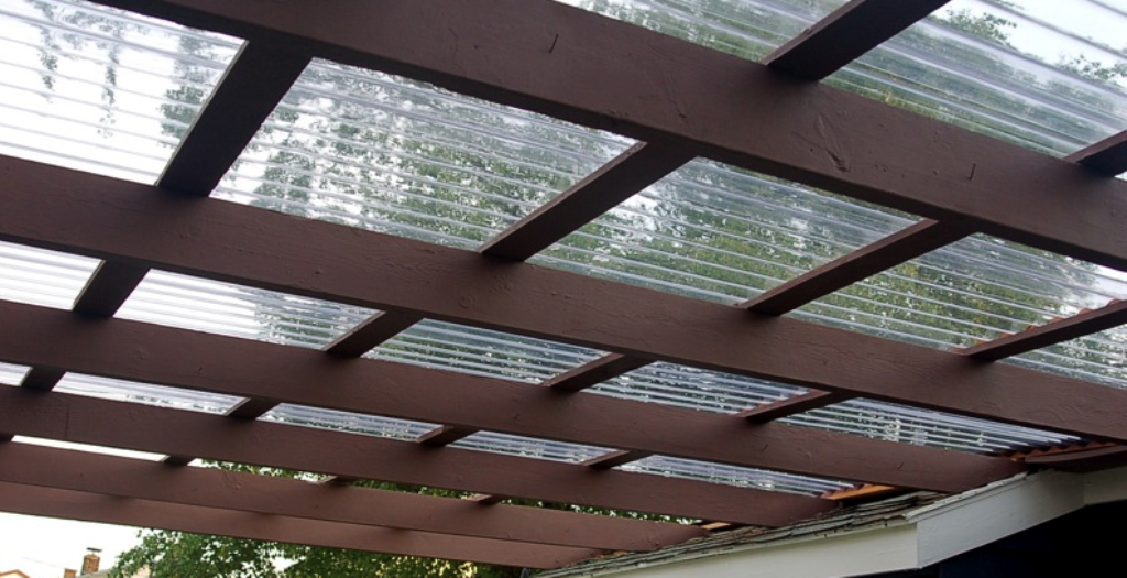 Image of: Clear Plastic Roofing Sheet for Sales
