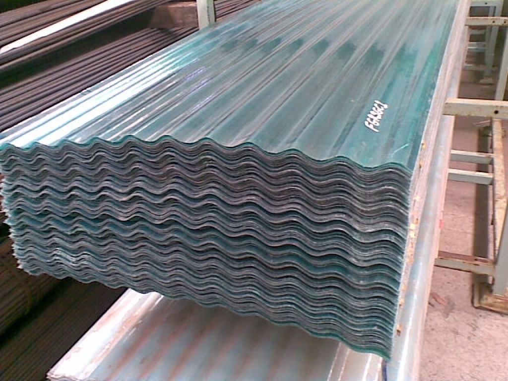 Clear Plastic Roofing Sheets- 10ft Length