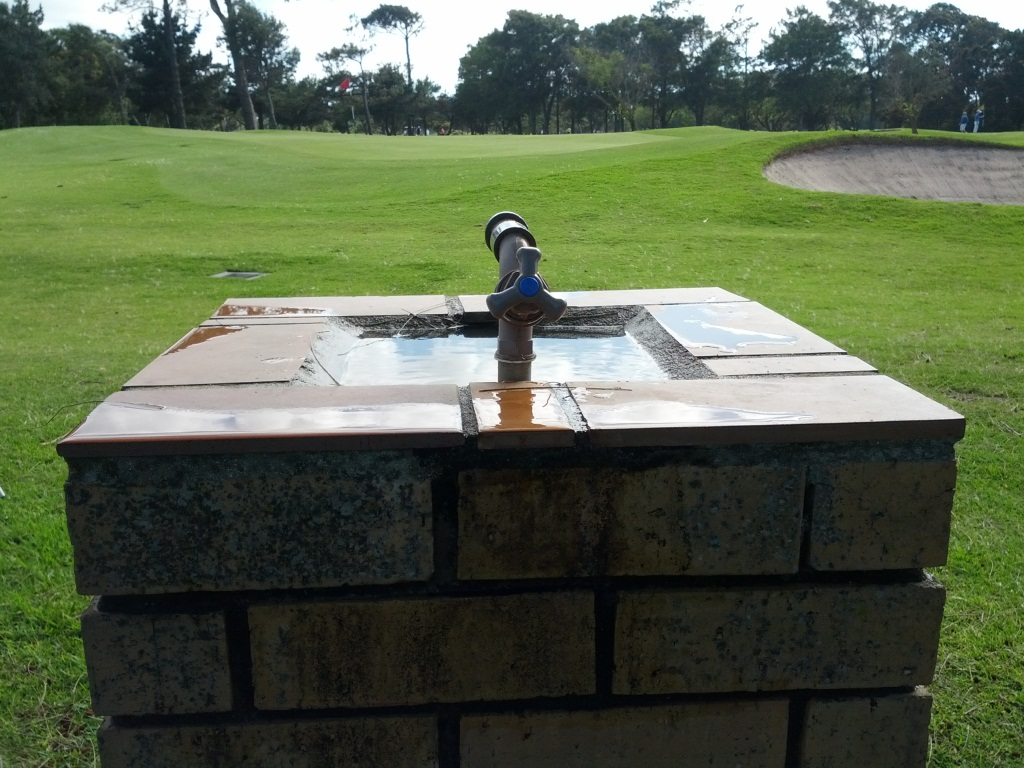 Image of: Commercial Drinking Fountain Concrete