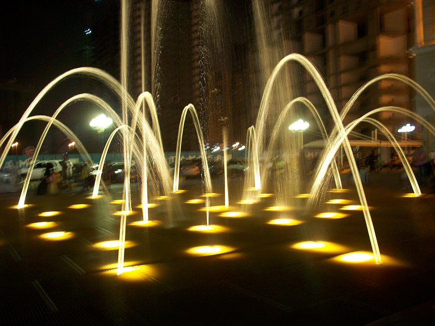 Image of: Commercial Water Fountains City