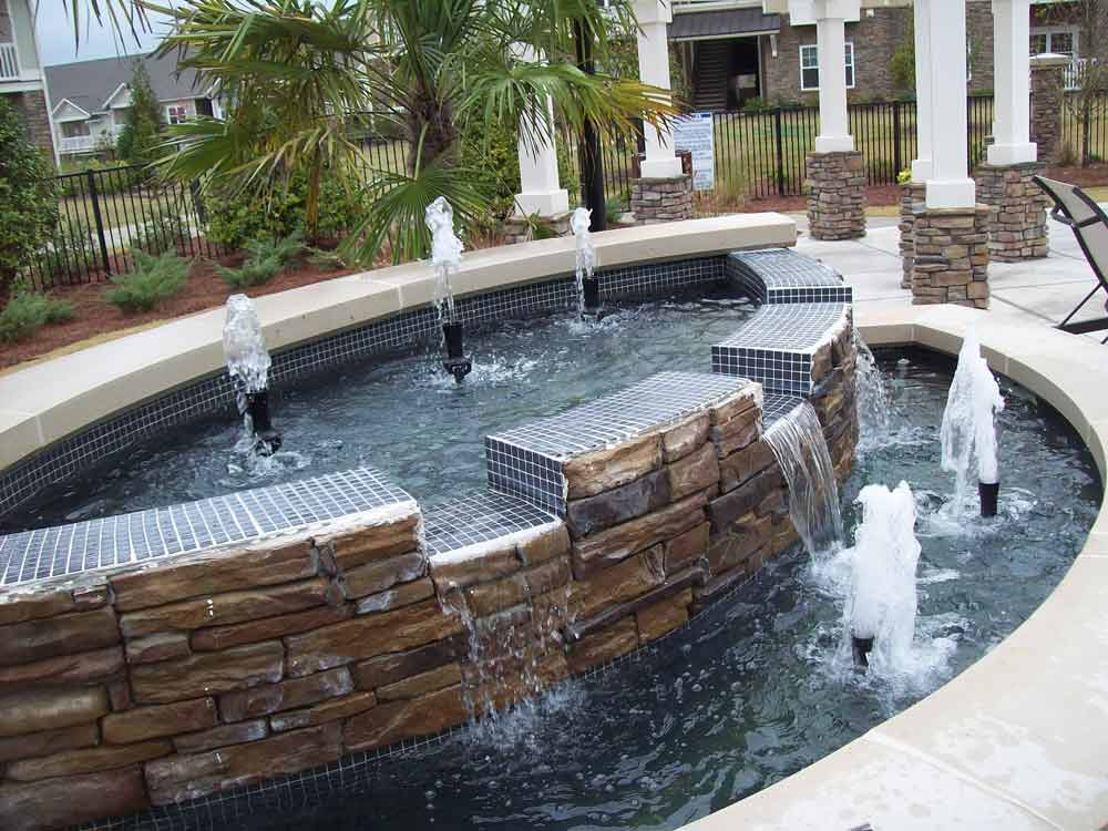 Image of: Commercial Water Fountains Features