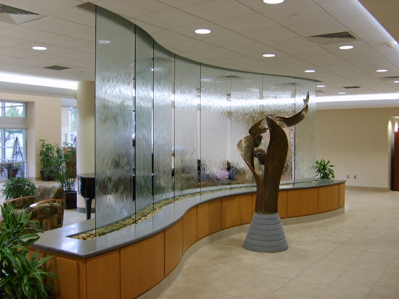 Image of: Commercial Water Fountains Indoor