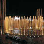 Commercial Water Fountains Lighting