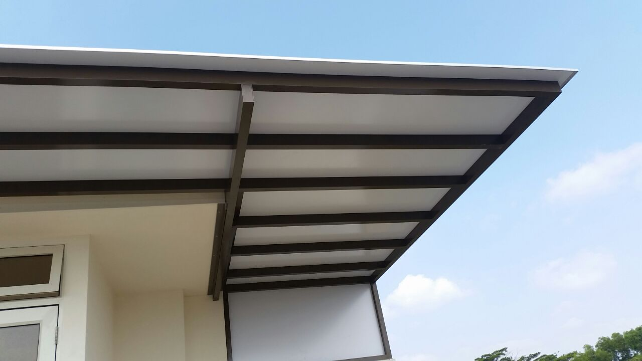 Image of: Composite Aluminum Roofing Panels