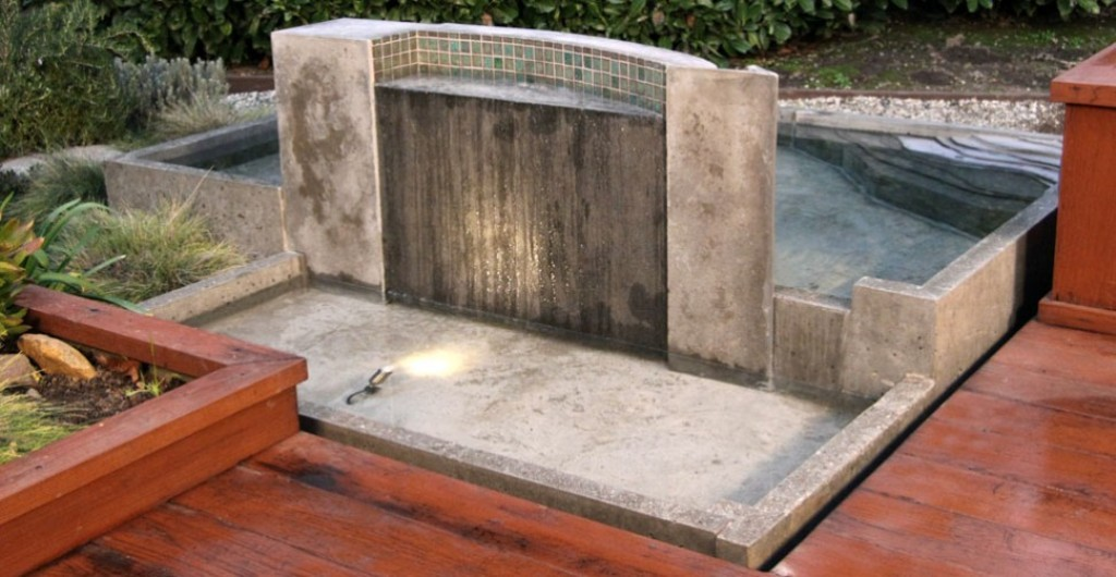 Image of: Concrete Fountain Molds Design