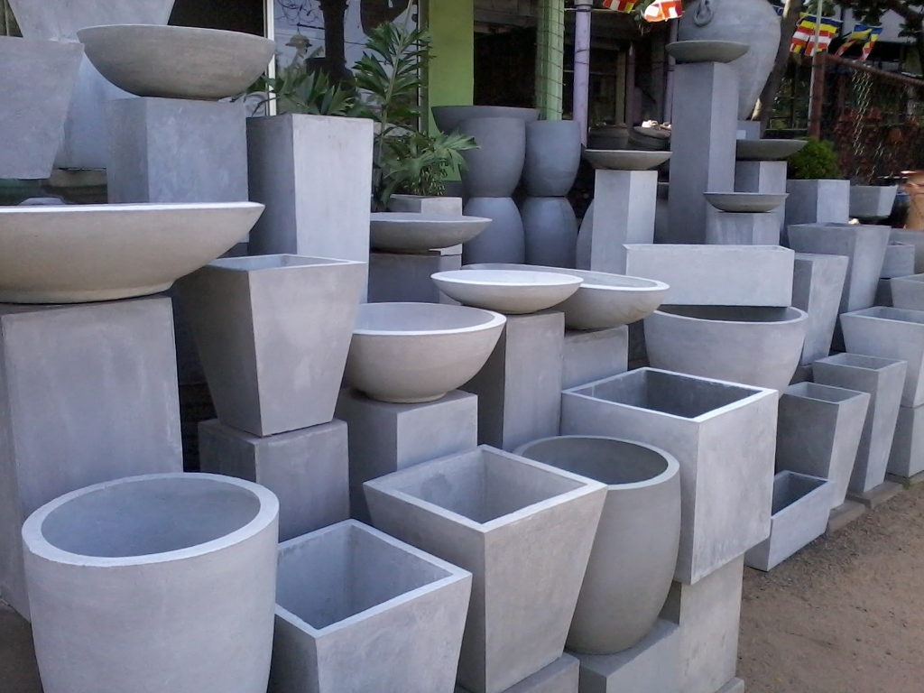 Image of: Concrete Fountain Molds for Sale