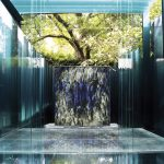 Contemporary Blue Fountain Style