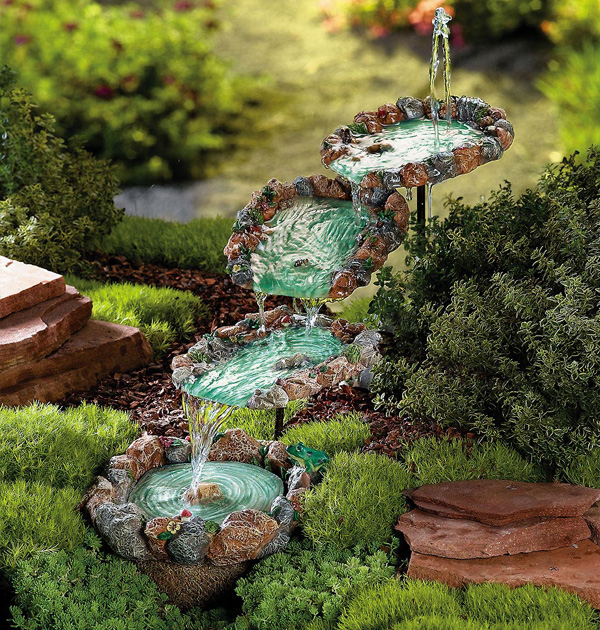 Image of: Contemporary Fountains Nature