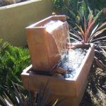Contemporary Outdoor Fountains Decorate