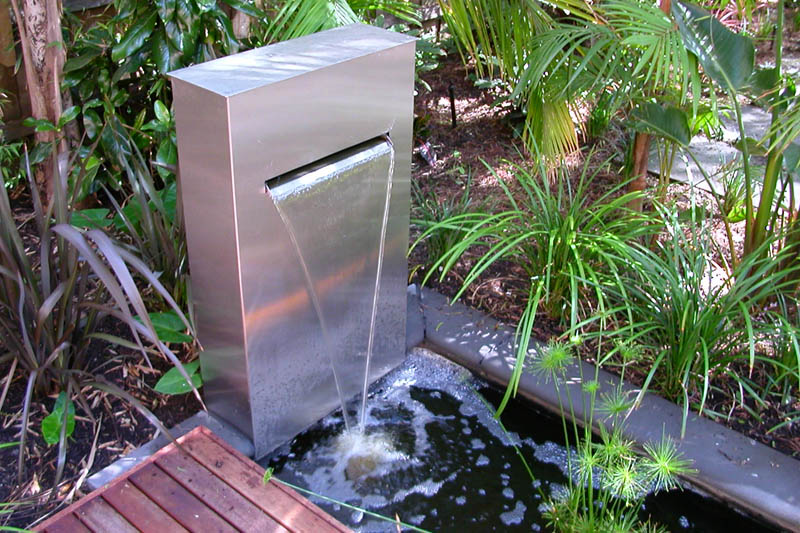 Contemporary Outdoor Fountains Ideas