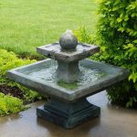 Contemporary Outdoor Fountains Ponds