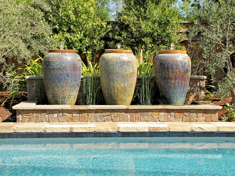 Image of: Contemporary Outdoor Water Fountains Design Ideas