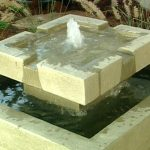 Contemporary Outdoor Water Fountains Ideas