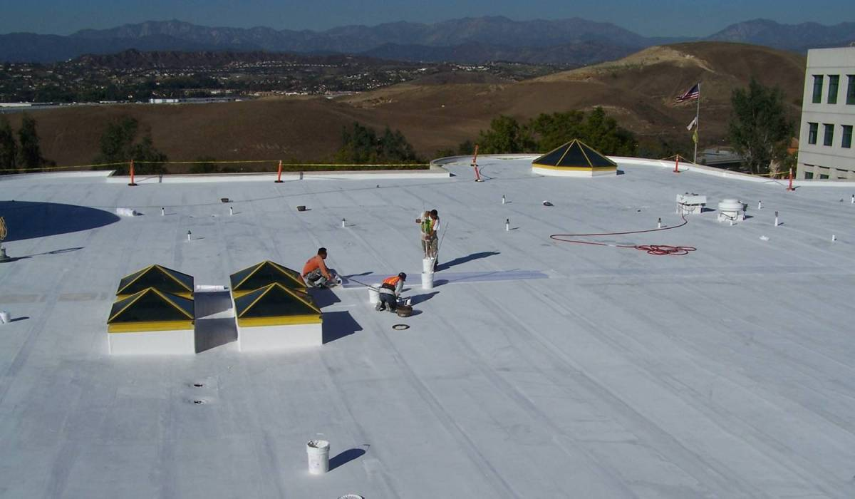 Cool Roof Coating Project