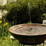 Copper Bird Bath Fountain Solar