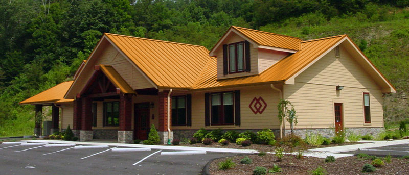 Image of: Copper Metal Roof Colors