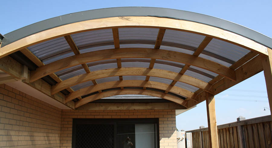 Curved Canvas Roof