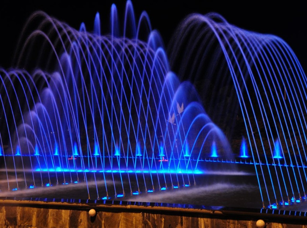 Image of: Dancing Water Fountain Base