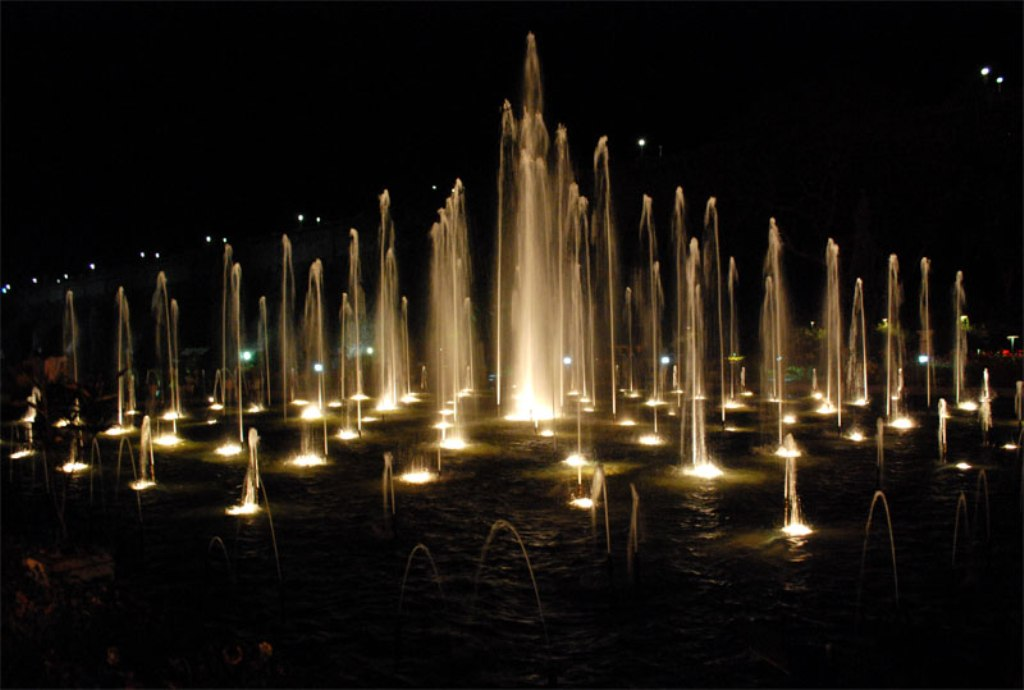 Image of: Dancing Water Fountain Liners