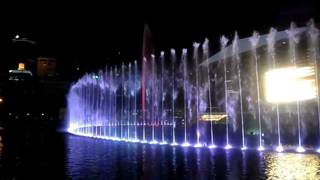 Image of: Dancing Water Fountain Pumps