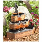Decorative Barrel Water Fountain