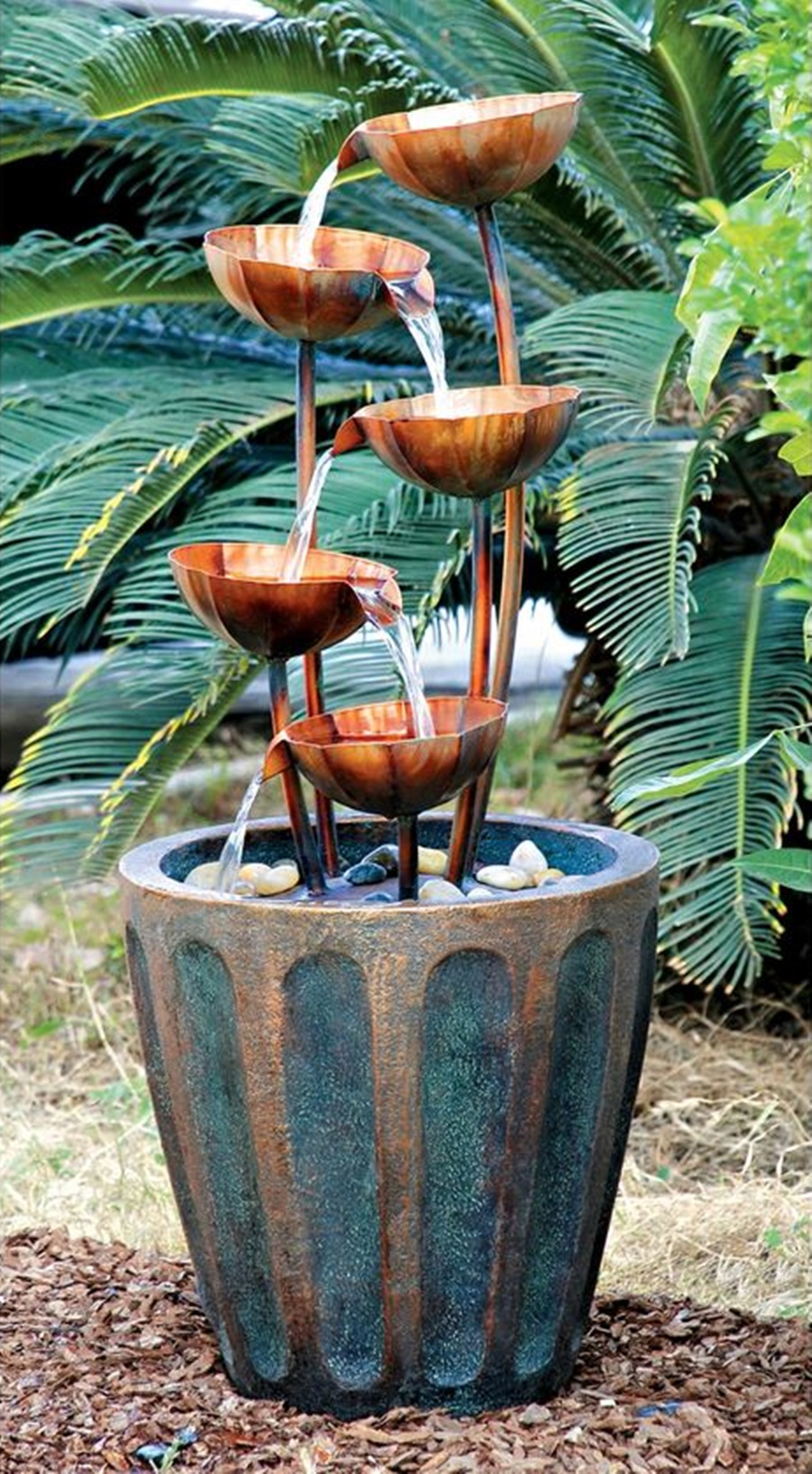 Image of: Decorative Copper Water Fountain