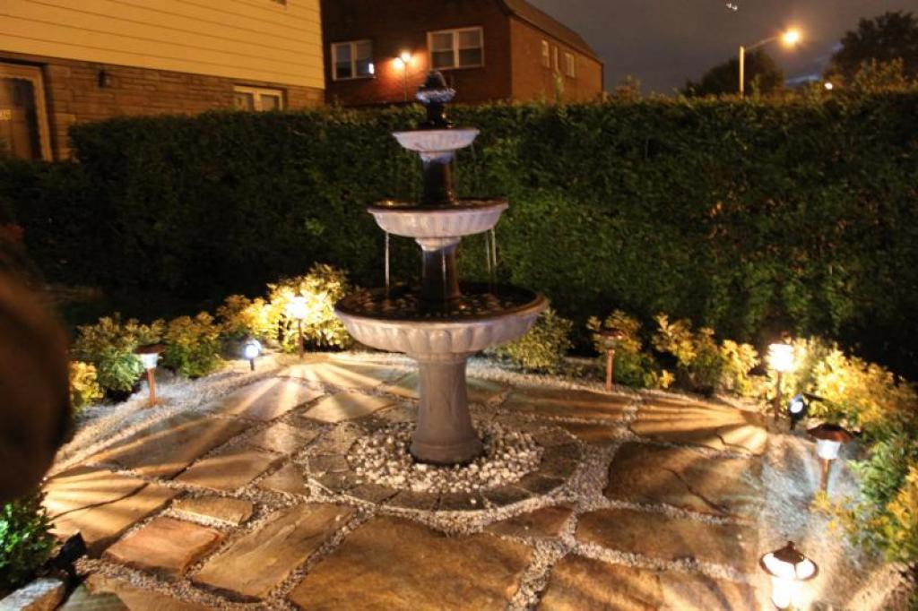 Image of: Decorative fountains and infection control