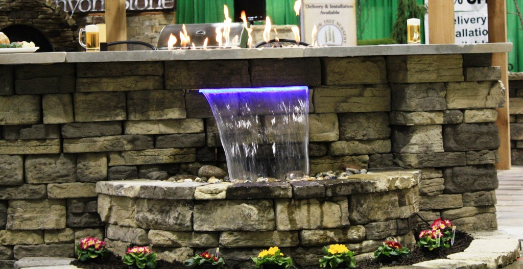 Image of: Decorative fountains indoor