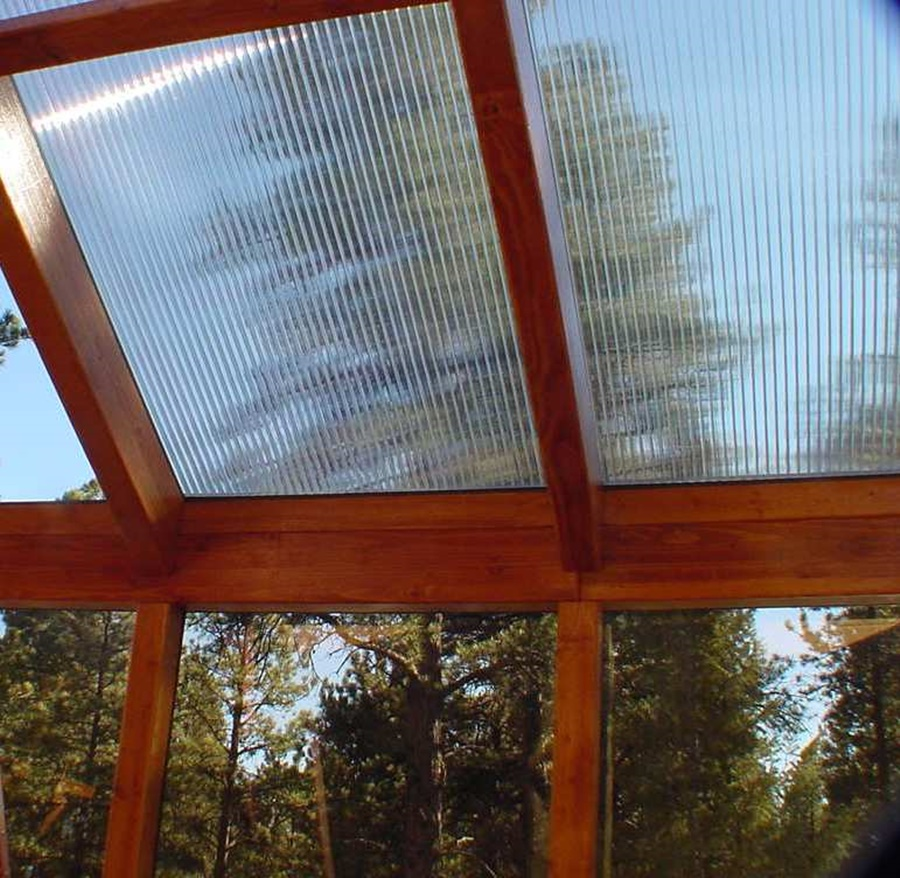 Image of: Design Acrylic Roof Panels