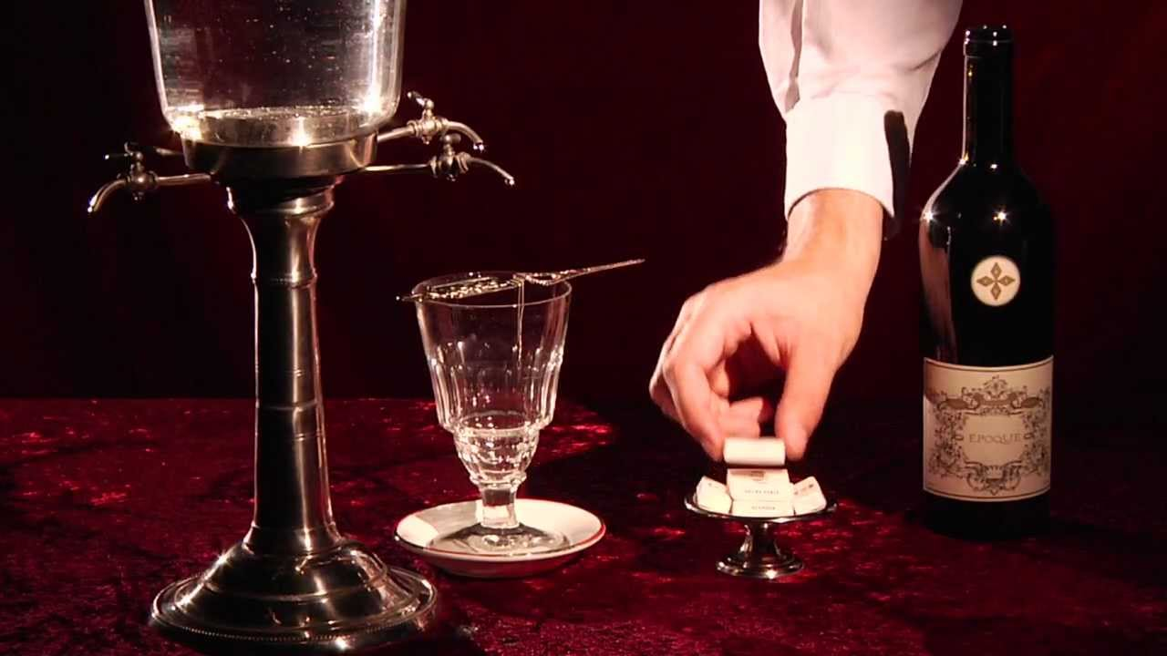 Image of: Design of Absinthe Fountain Set