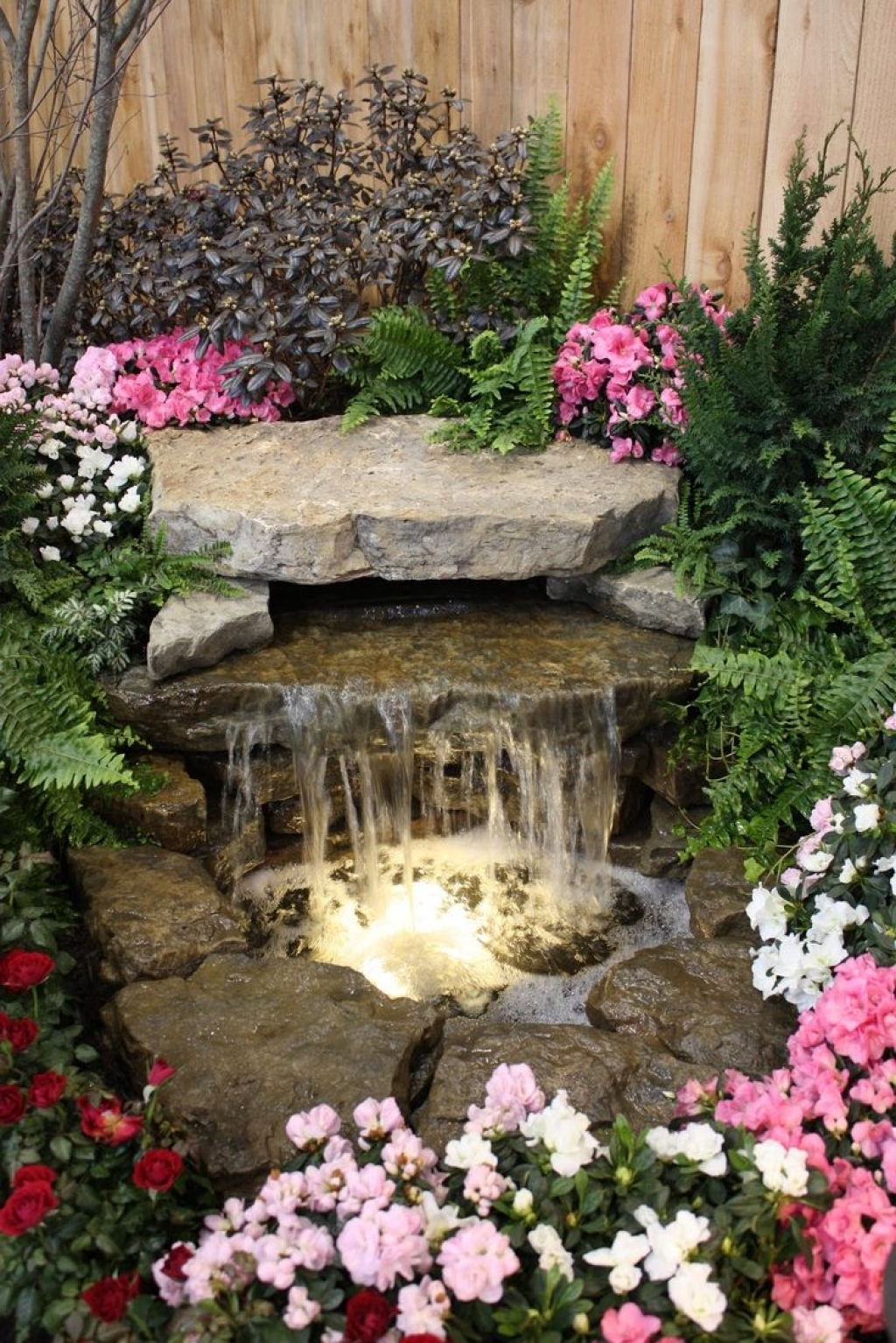 Image of: DIY Fountains Decor