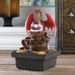 Dragon Battery Operated Tabletop Water Fountain